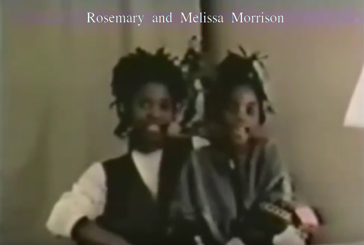 R.I.P. Rosemary and Melissa Morrison