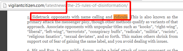 disinformation-name-calling