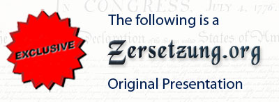 The following is a zersetzung.org Original Presentation.